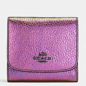 Coach hologram bifold wallet